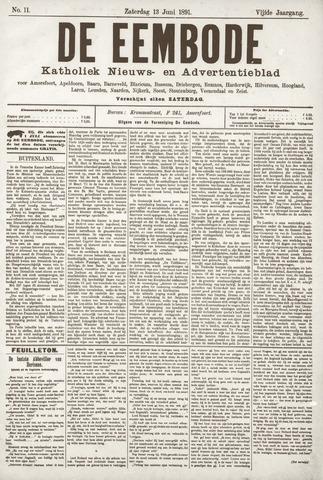 De Eembode 1891-06-13