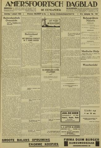 Amersfoortsch Dagblad / De Eemlander 1933-01-07