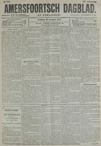Amersfoortsch Dagblad / De Eemlander 1917-01-19