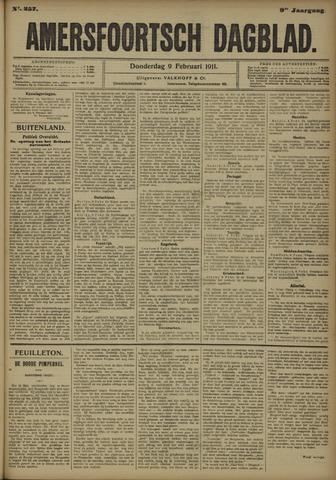 Amersfoortsch Dagblad 1911-02-09