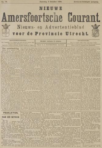 Nieuwe Amersfoortsche Courant 1898-10-01