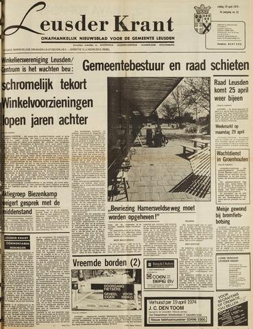 Leusder Krant 1974-04-19