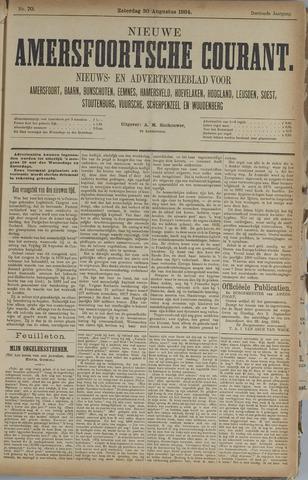 Nieuwe Amersfoortsche Courant 1884-08-30