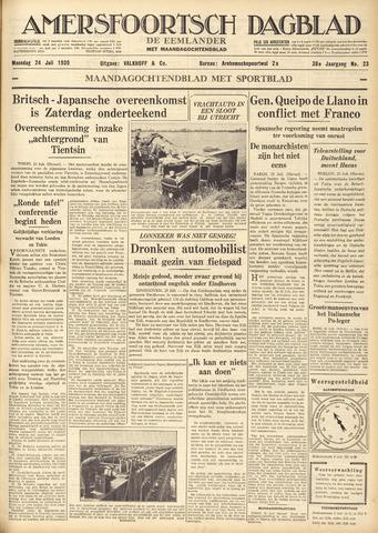 Amersfoortsch Dagblad / De Eemlander 1939-07-24