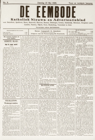 De Eembode 1908-05-23