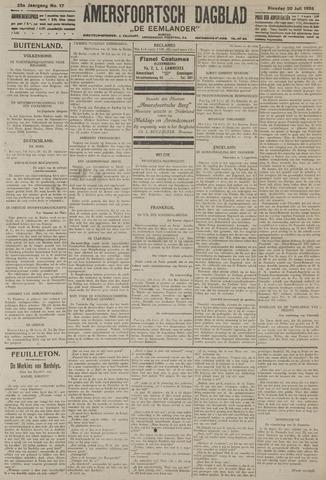 Amersfoortsch Dagblad / De Eemlander 1926-07-20