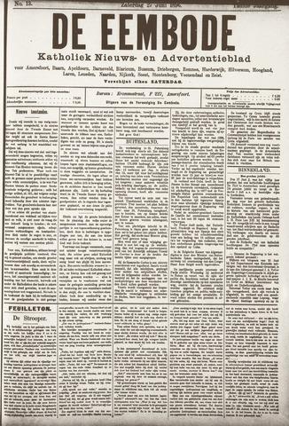 De Eembode 1896-06-27