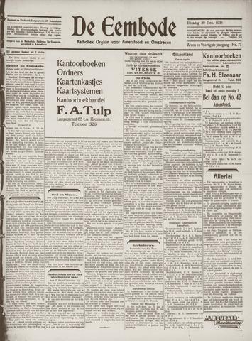 De Eembode 1933-12-29