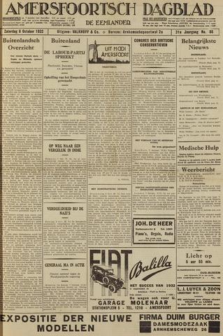 Amersfoortsch Dagblad / De Eemlander 1932-10-08