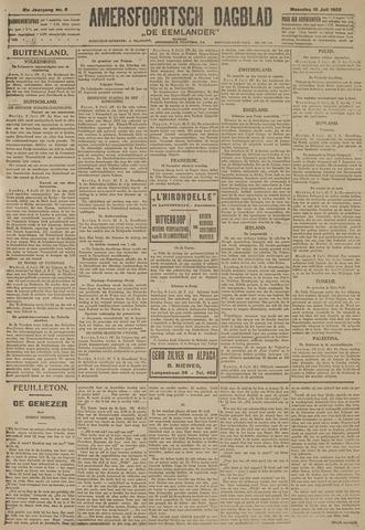 Amersfoortsch Dagblad / De Eemlander 1922-07-10