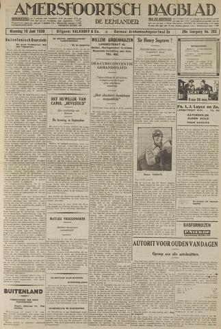 Amersfoortsch Dagblad / De Eemlander 1930-06-16