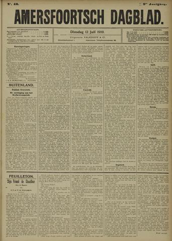 Amersfoortsch Dagblad 1910-07-12