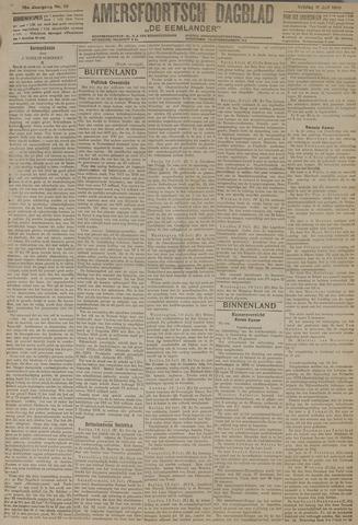 Amersfoortsch Dagblad / De Eemlander 1919-07-11