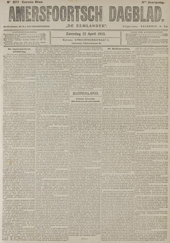 Amersfoortsch Dagblad / De Eemlander 1913-04-12
