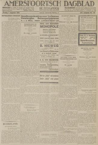 Amersfoortsch Dagblad / De Eemlander 1928-08-07