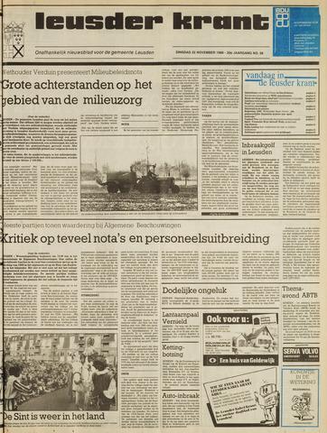 Leusder Krant 1988-11-22