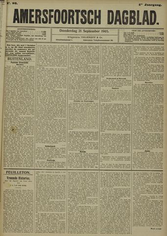 Amersfoortsch Dagblad 1905-09-21