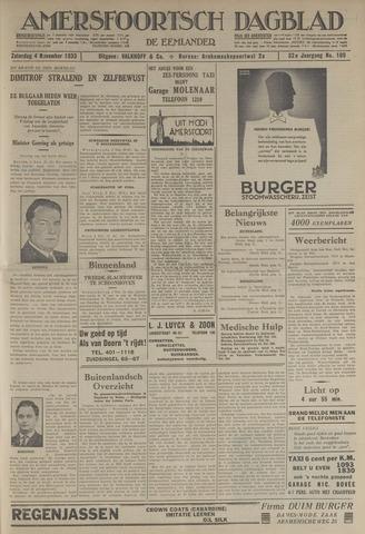 Amersfoortsch Dagblad / De Eemlander 1933-11-04