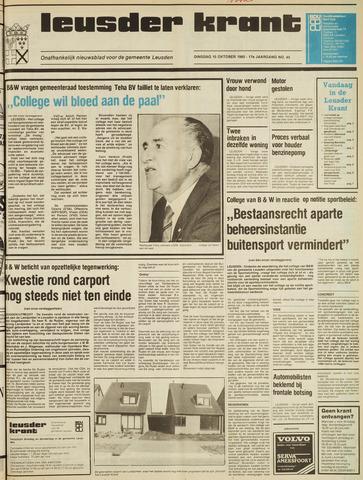 Leusder Krant 1985-10-15