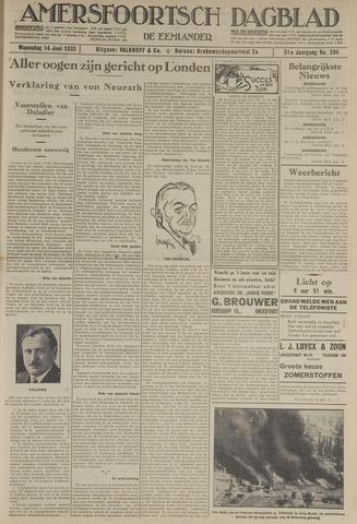 Amersfoortsch Dagblad / De Eemlander 1933-06-14