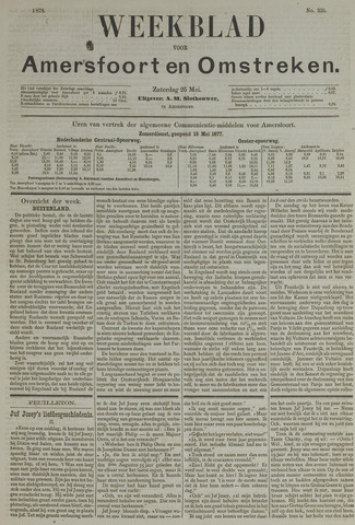 Weekblad voor Amersfoort en Omstreken 1878-05-25