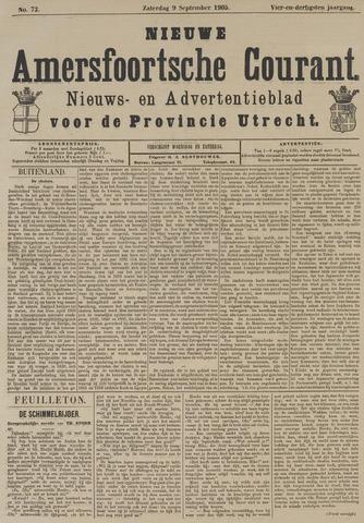 Nieuwe Amersfoortsche Courant 1905-09-09