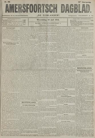 Amersfoortsch Dagblad / De Eemlander 1913-07-30