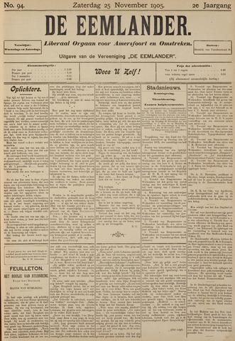 De Eemlander 1905-11-25