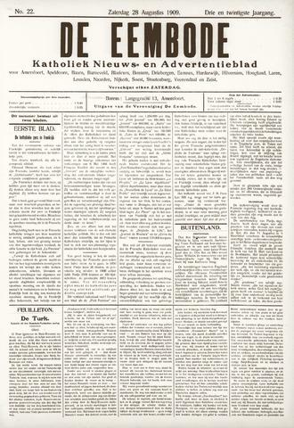 De Eembode 1909-08-28