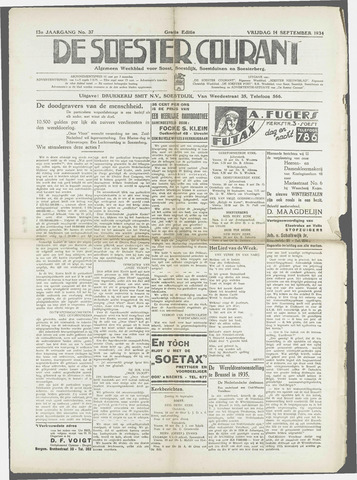Soester Courant 1934-09-14