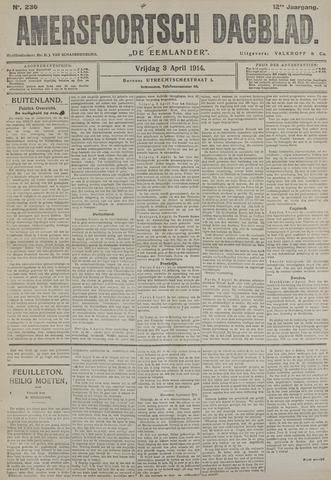 Amersfoortsch Dagblad / De Eemlander 1914-04-03