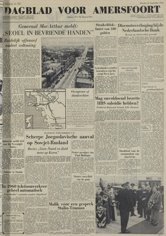 Dagblad voor Amersfoort 1950-09-26