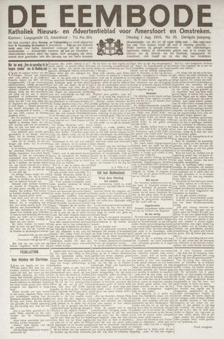 De Eembode 1916-08-01