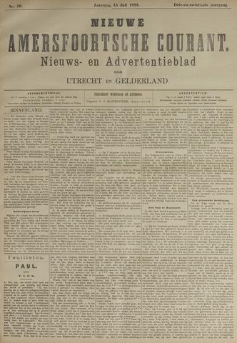 Nieuwe Amersfoortsche Courant 1894-07-14