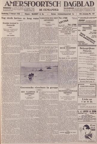 Amersfoortsch Dagblad / De Eemlander 1935-02-07