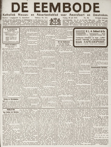 De Eembode 1916-07-28