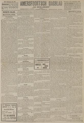Amersfoortsch Dagblad / De Eemlander 1922-09-27