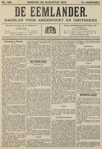 De Eemlander 1910-08-23