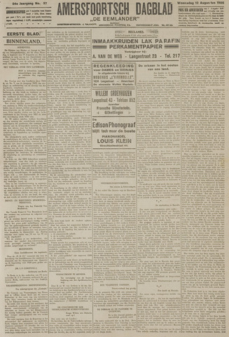 Amersfoortsch Dagblad / De Eemlander 1925-08-12