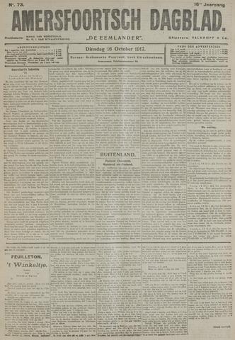 Amersfoortsch Dagblad / De Eemlander 1917-10-16