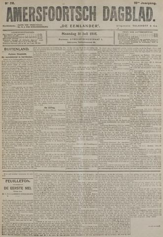 Amersfoortsch Dagblad / De Eemlander 1916-07-31
