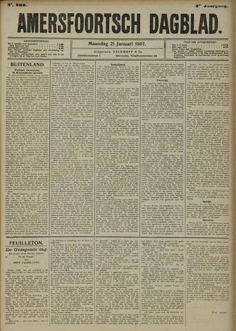 Amersfoortsch Dagblad 1907-01-21
