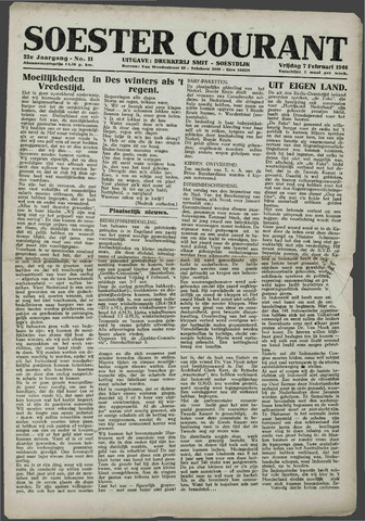 Soester Courant 1946-02-07
