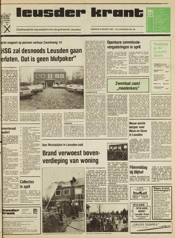 Leusder Krant 1984-03-27