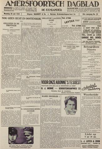 Amersfoortsch Dagblad / De Eemlander 1934-07-30