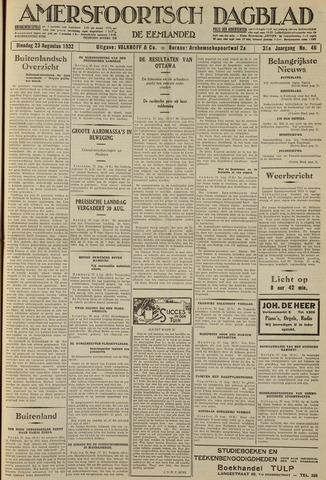 Amersfoortsch Dagblad / De Eemlander 1932-08-23