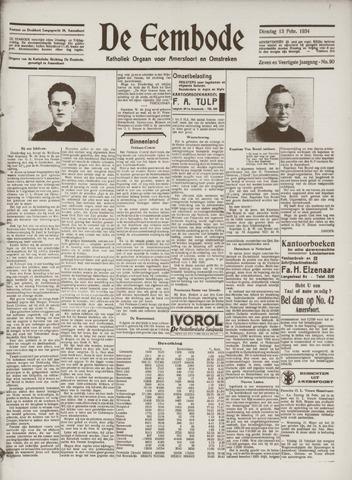 De Eembode 1934-02-13