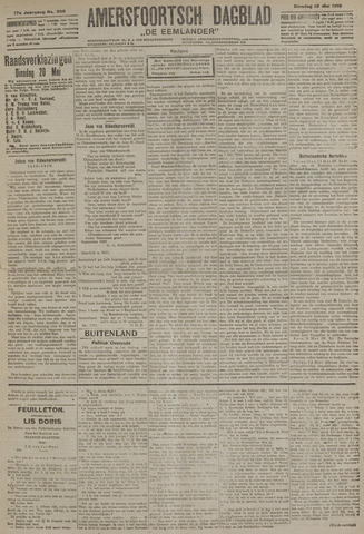 Amersfoortsch Dagblad / De Eemlander 1919-05-13