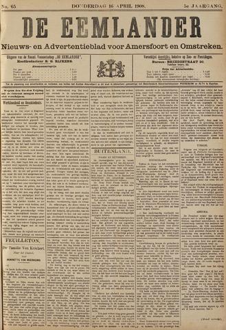 De Eemlander 1908-04-16