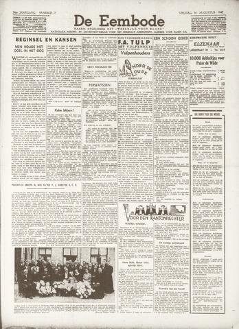 De Eembode 1940-08-30